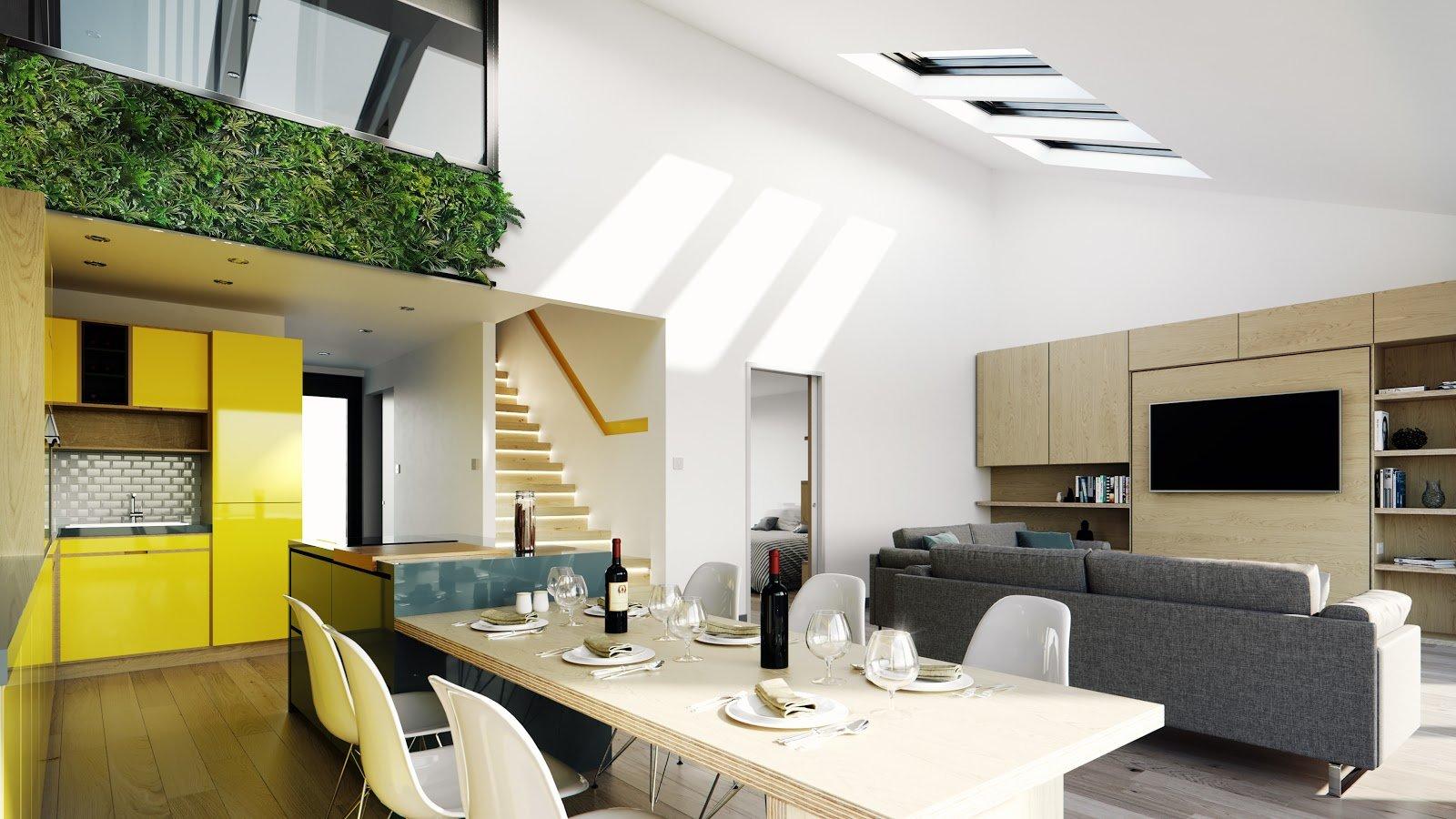 Flex Kit Home Interior Spacious Living