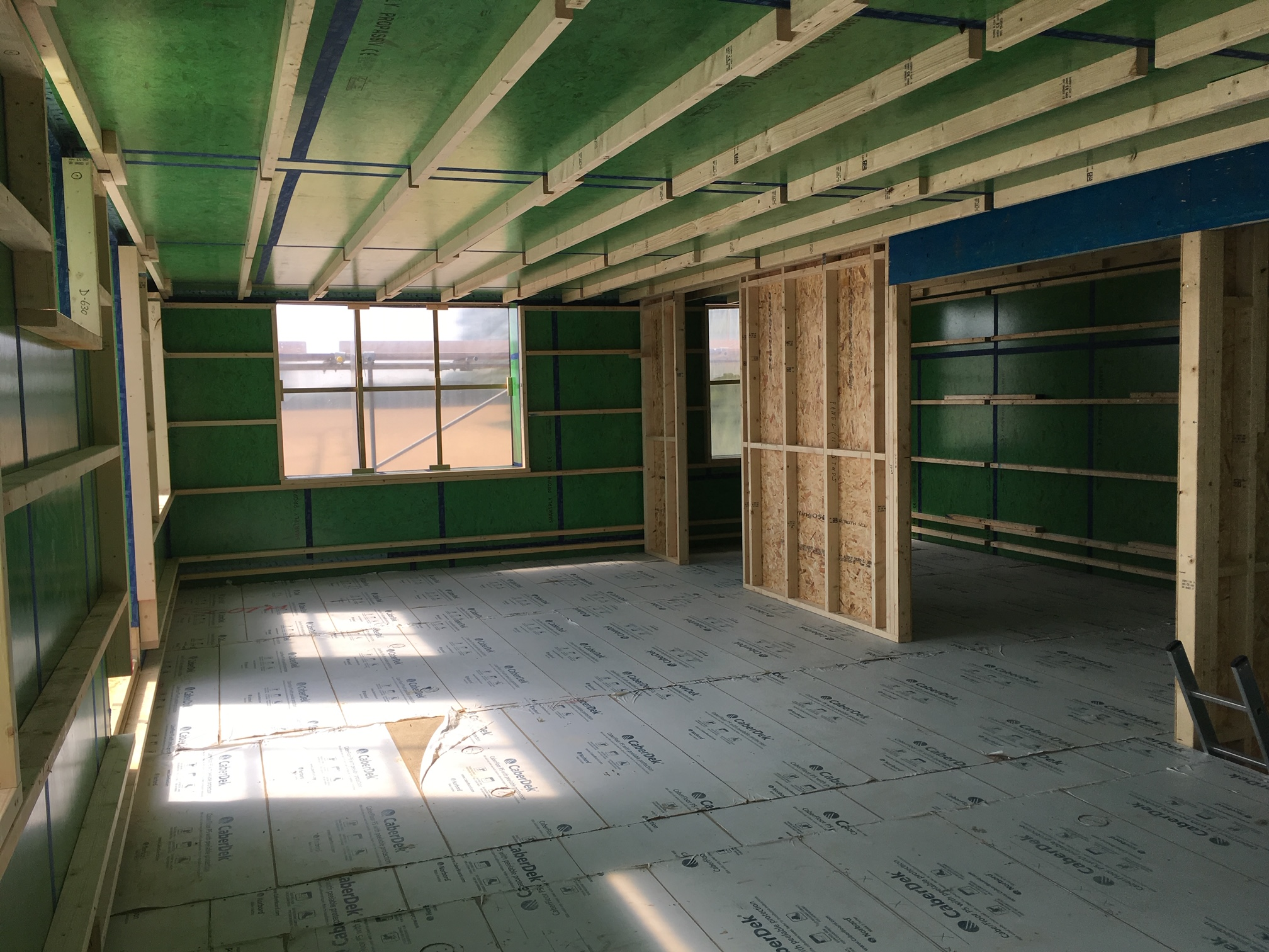 Stage 10 Ceiling installed
