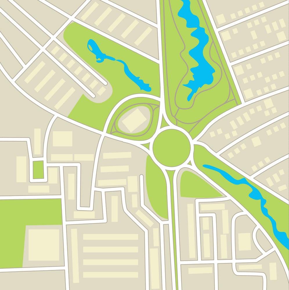 city-map-conceptual-vector-18435269